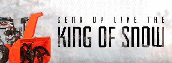 Gear up like the King of Snow