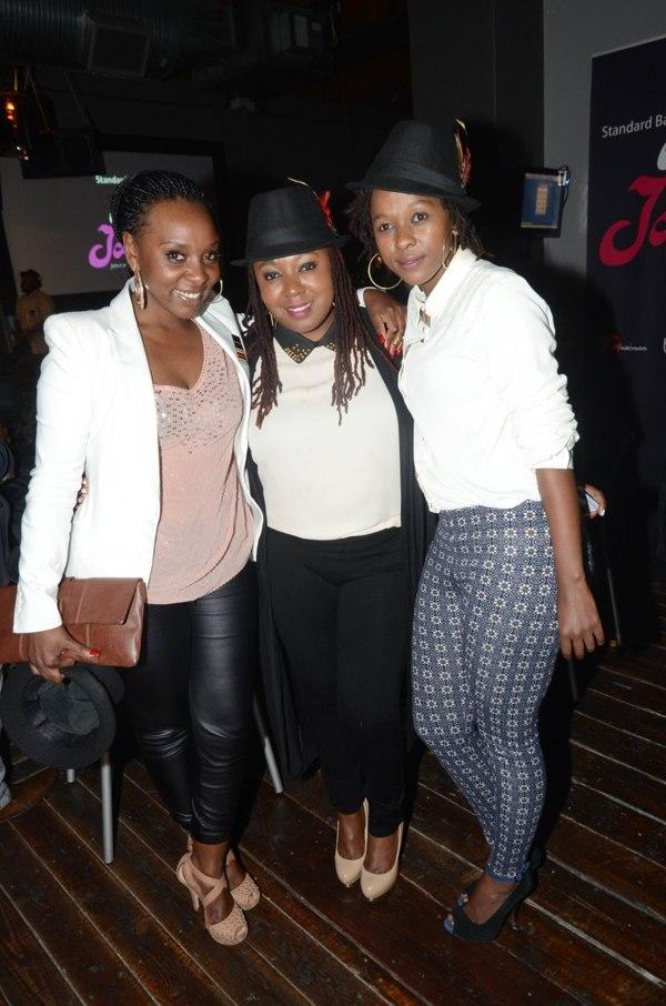 Wanda Baloyi, Brenda Mtambo, Asanda Bam (Picture by Oupa Bopape)