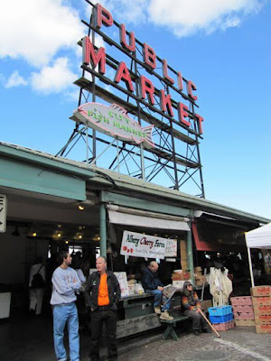Pike market, Seattle,