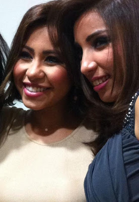 Photos Sherine Abd Al Wahab avec Dounia Batma