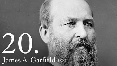 JAMES A. GARFIELD 1881