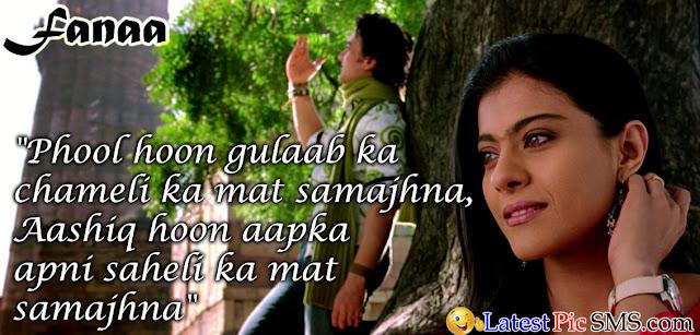 Fanna Bollywood Dialogues