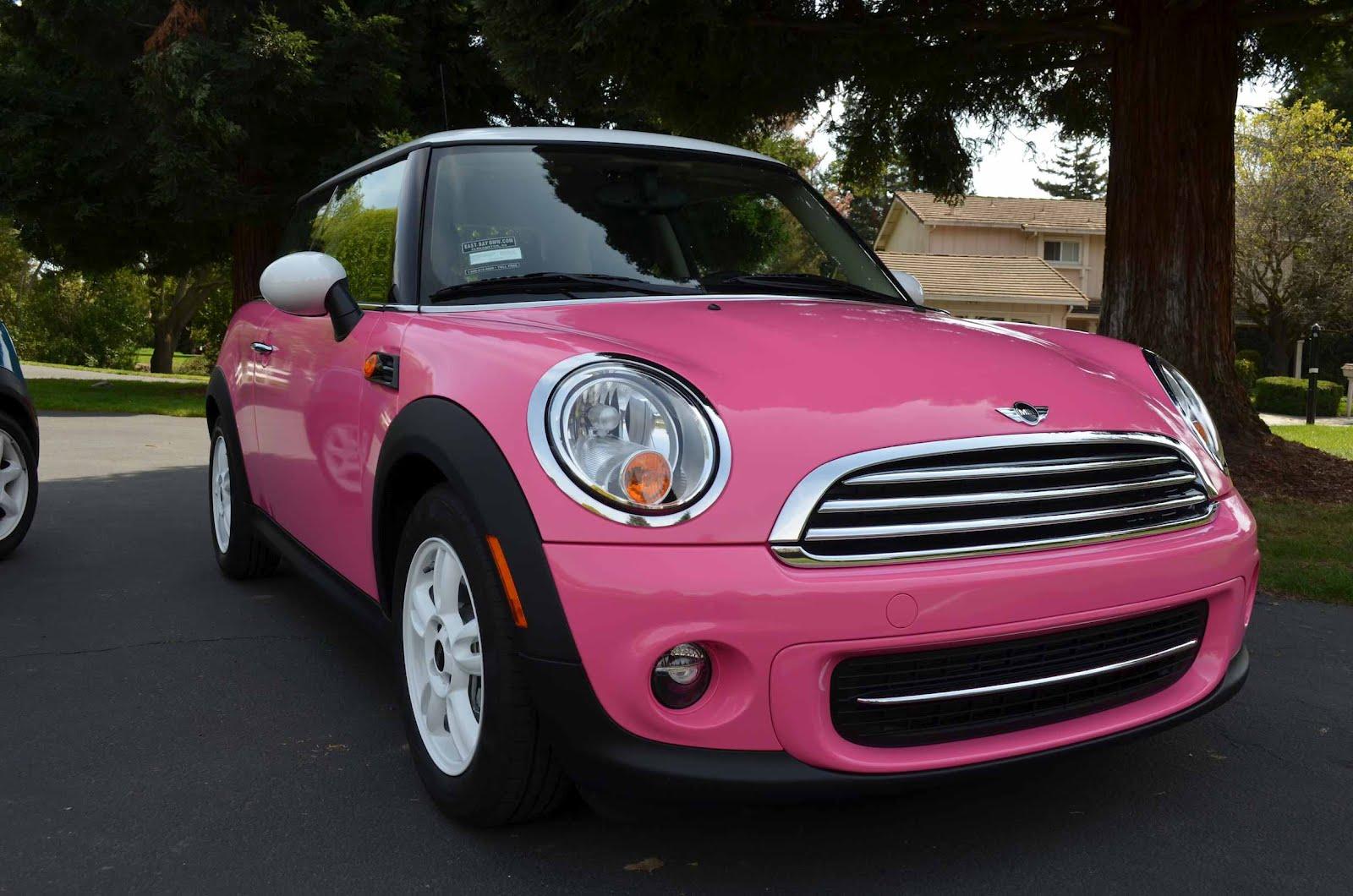 dave car guy pink mini cooper joins the garage. Black Bedroom Furniture Sets. Home Design Ideas