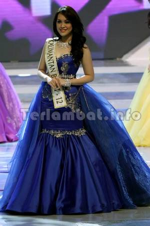 Vania Larissa Miss World Indonesia 2013