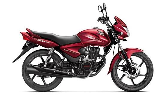 2012 Honda CB Shine Rebel Red Metallic