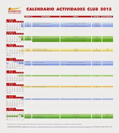 CALENDARI ACTIVITATS 2015