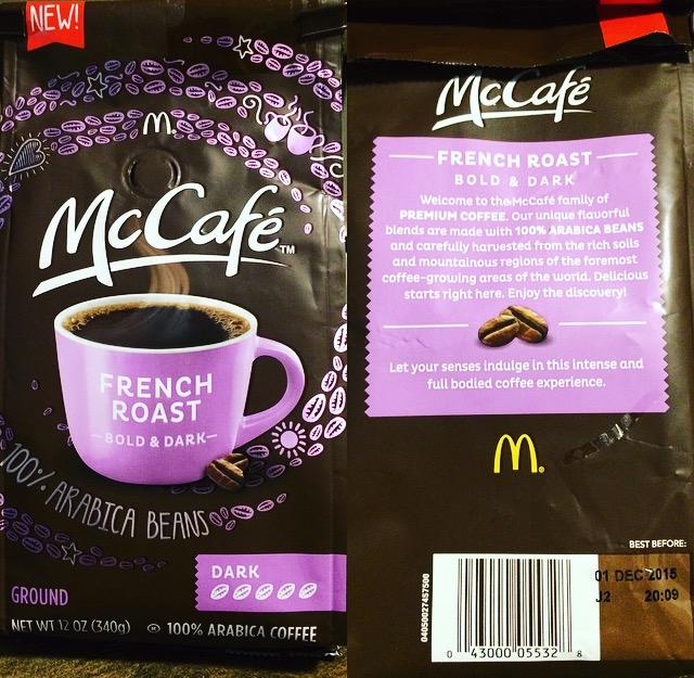 mccafe dark roast