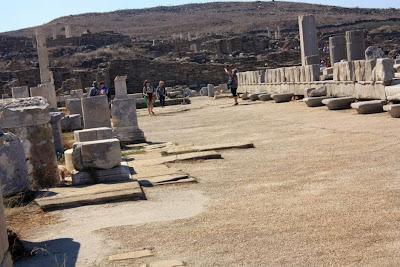 Sanctuary of Delos in The Greek Islands
