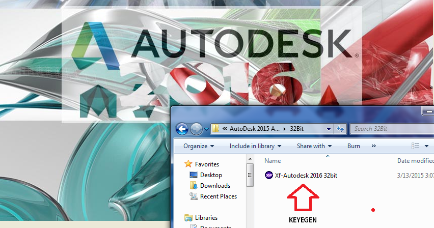 Download Software Full Version: AutoDesk 2016 All Products Full Version with Patch & Keygen (XForce)
