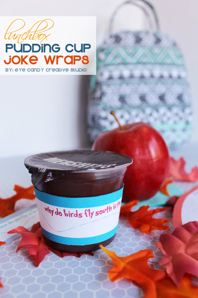 Hershey's pudding cups, snack ideas, fall jokes, back to school lunch idea