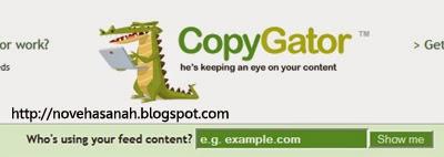 cara kerja copygator sedikit berbeda dibanding situs pelacak pencuri konten blog lainnya