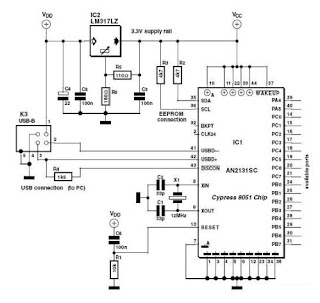 midi to usb pinout diagram