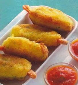 Receta Croquetas Patatas
