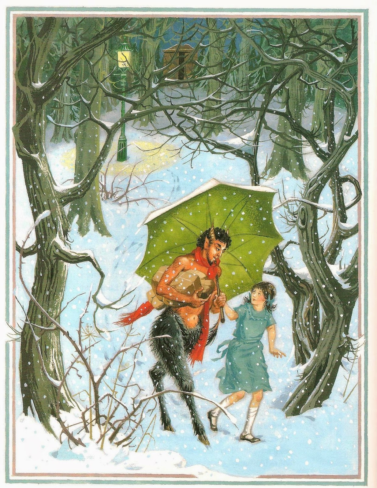 seven miles of steel thistles re reading narnia the lion the it is she who discovers narnia she who befriends the faun mr tumnus and it s lucy and susan not the boys who witness aslan s death and return to life