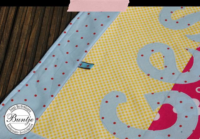 Babydecke Patchworkdecke Krabbeldecke Patchwork Mädchen handmade handgemacht rosa pink gelb hellblau Mäuse