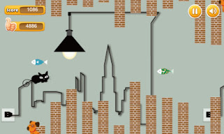 Screenshots of the Flappy Cat for Android tablet, phone.