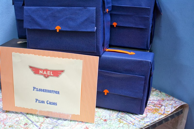 Pilot cases as planes give aways