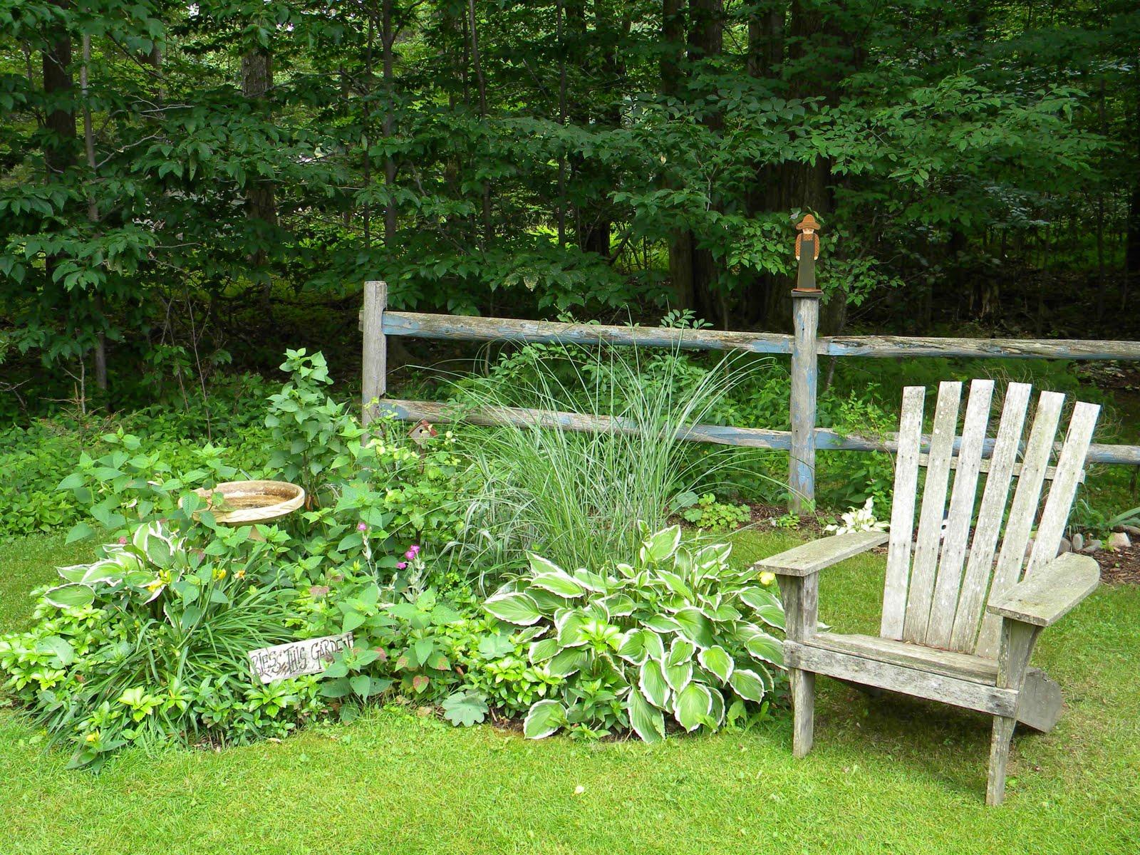 Dodatki do ogrodu wiejskiego