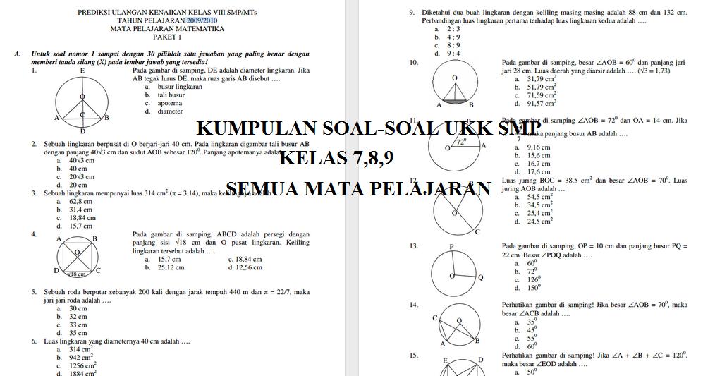 Kumpulan Soal Un Matematika Untuk Sma Matematika Sma Soal Matriks Prediksi Soal Un Matematika