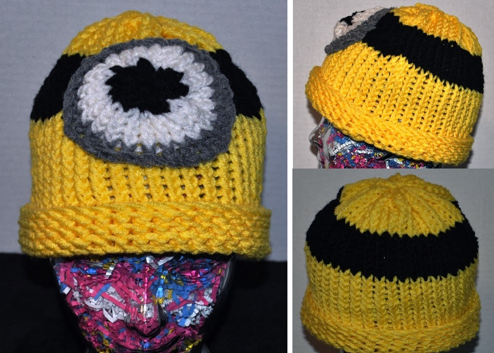 My Little Spot of Sanity: Minion Hat