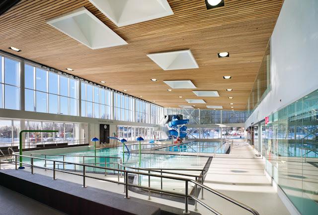 Design ideas south oshawa community center oshawa ontario mjmarchitects for Durham university swimming pool
