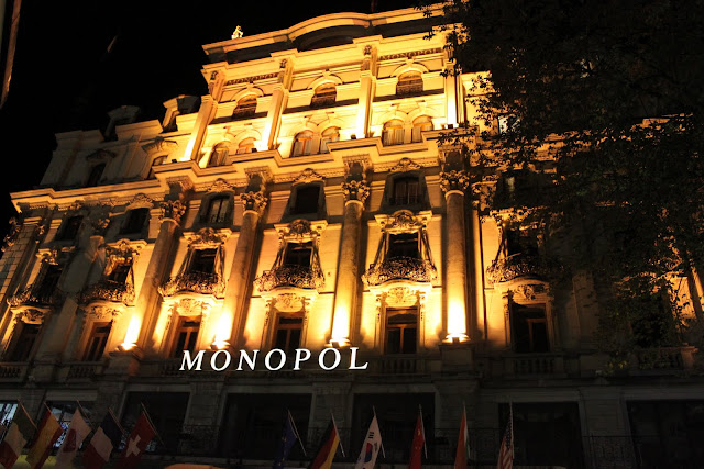 Monopol Hotel in Lucerne, Switzerland
