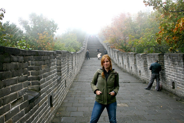 Gran Muralla China en Octubre. Sector Mutianyu