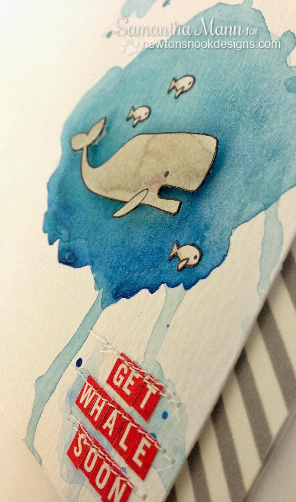 Sams Scrap Candy A Whale Of A Card