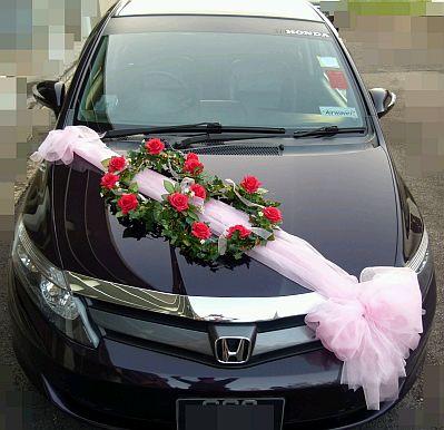 Decoracion de coches para boda parte 5 - Wedding decorations for car ...