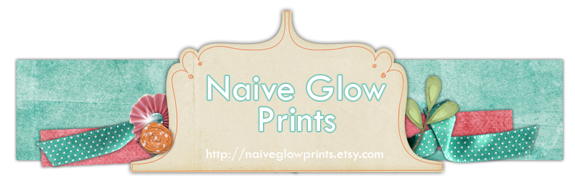 Naive Glow Prints
