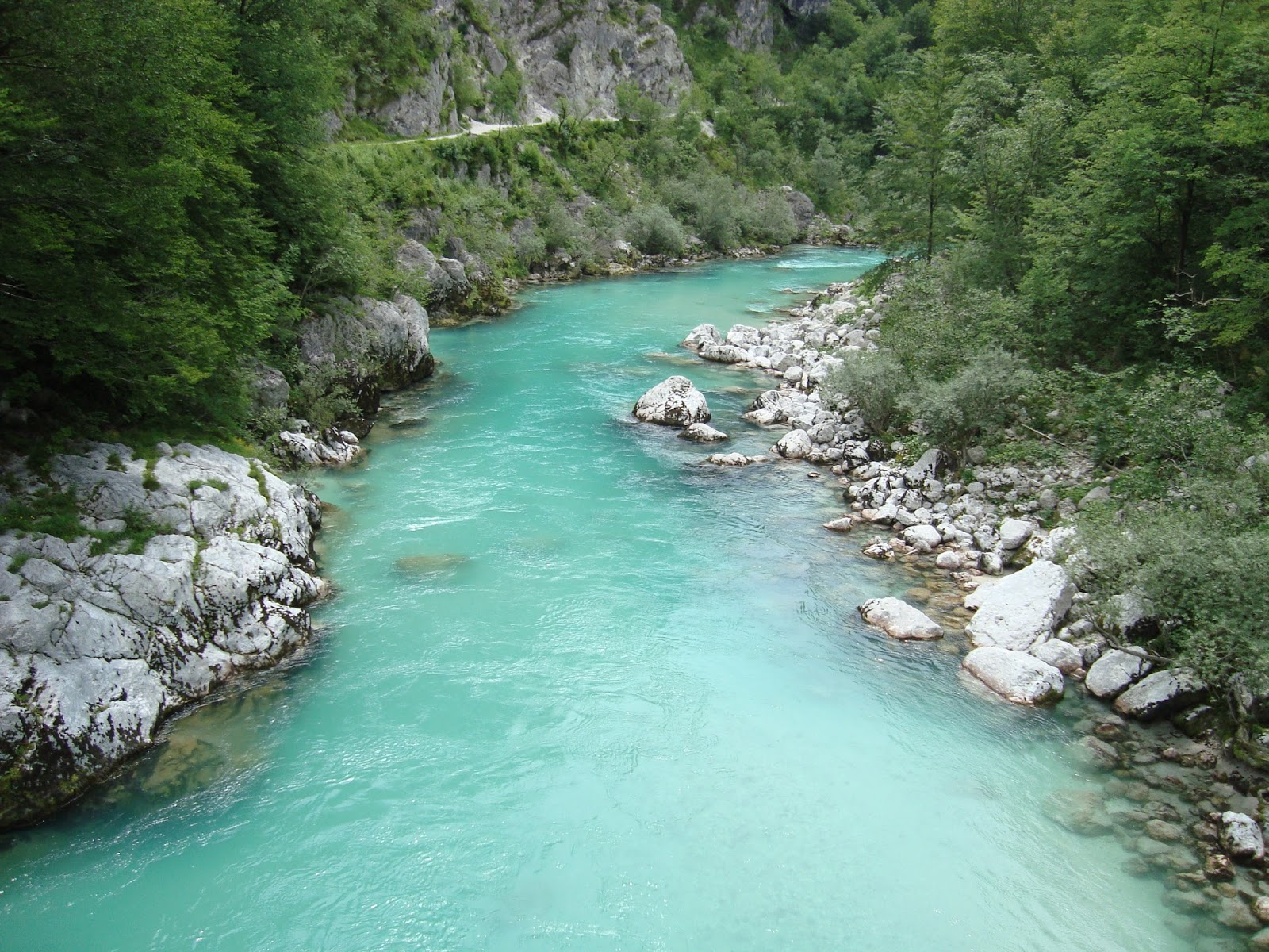 Soca River  Jewels of nature  Most beautiful places in the world