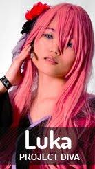 Cosplay Megurine Luka - ver. Geisha de Vocaloid por Kessy