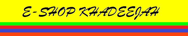 E-SHOP KHADEEJAH