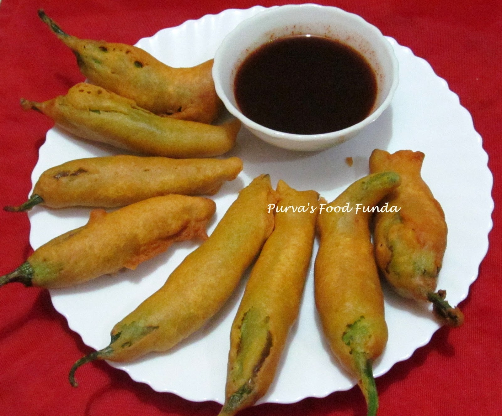 how to make mirchi vada