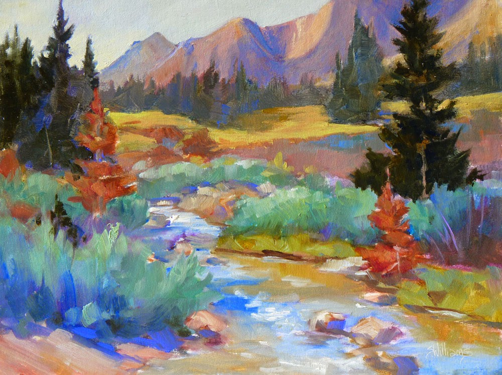 sharon lynn williams 39 art blog painting trip to mt