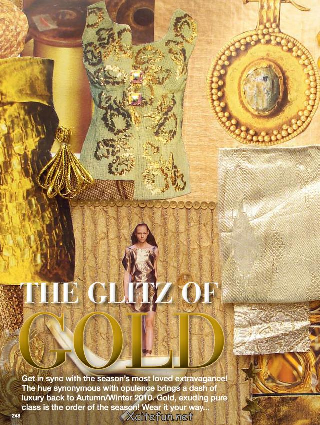The Glitz Of Gold Collection - Wear it
