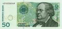 Norveç Kronu Banknot Para