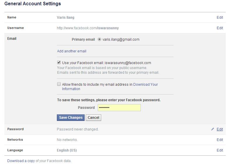 Cara Memberikan Security Berlapis Facebook 3