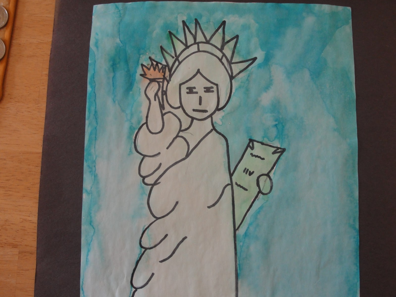 How Was School Today Statue Of Liberty Art Project