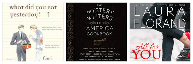 what did you eat yesterday, mystery writers of america cookbook, and all for you