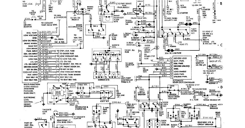 gmc light duty truck wiring diagrams 1988