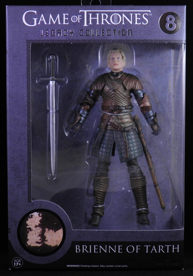 FUNKO Game of Thrones Legacy Collection BRIENNE OF TARTH #8 Series 2 ACTION