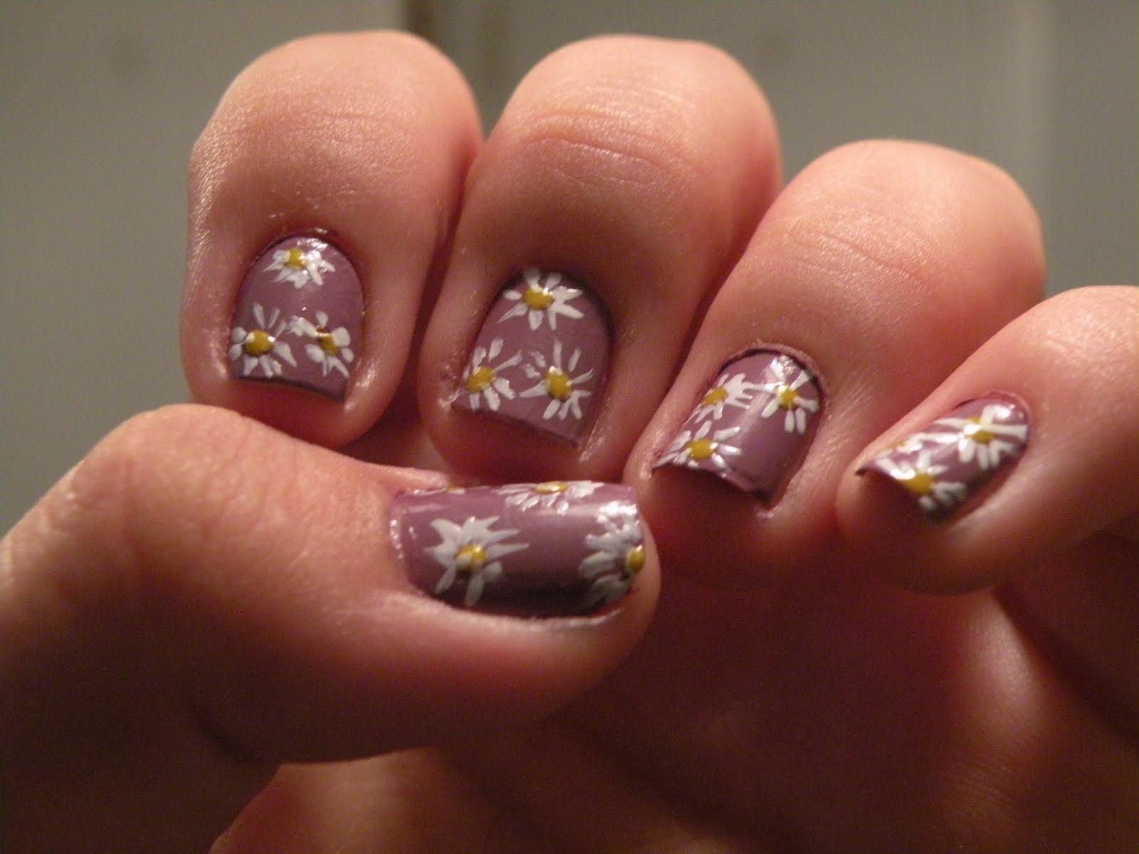 Lauras Nail Art Flower Nails