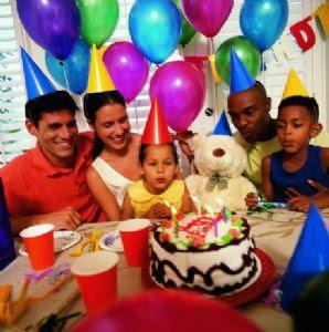 Image Pesta Ulang Tahun Pertama Anak