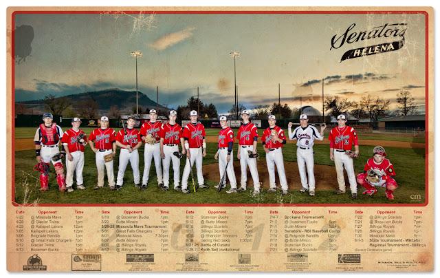 chris martin photography - baseball poster
