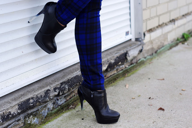 trend 2013, fall outfits, fall fashion trends 2013, latest fashion, blue, plaid, pants, mango,  german fashionblogger, modeblogger, beste deutsche blogger, hamburg, deichmann, karierte Hose,