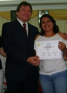 Dep. Estadual  Eliel Faustino e Eu
