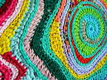 Free Form Crochet - Tapete Formas Livres e Cores 3