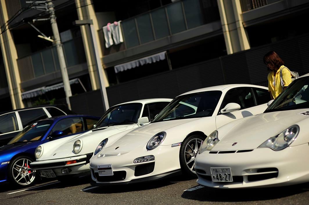 911  GT3  との初対面 2013年09月21日の風景です。