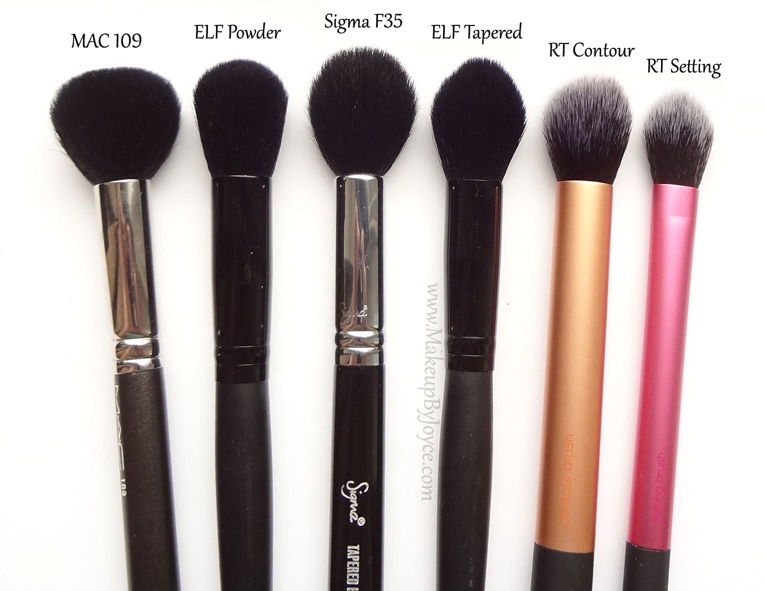 Elf makeup brushes